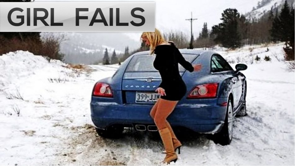 Ultimate Girl Fails Compilation  – Woman Car Fails and Road Rage caught on camera
