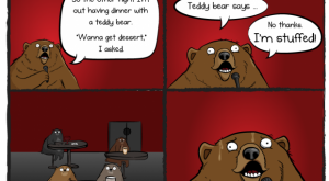 I can't bear it…