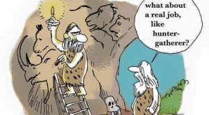 Funny caveman cartoons