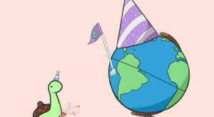 Sheldon's throwing a party for Earth for making it around the Sun, he hopes…