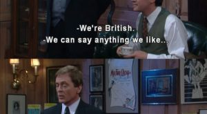 British people have a clear