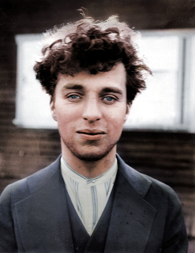 Charlie Chaplin at the age of  –