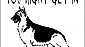 "GERMAN SHEPHERD DOG SIGN HGS #DogMemes "" #DogMemes"