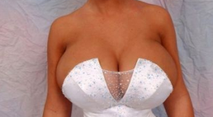 Best Wedding Dress Ever —- hilarious jokes funny pictures walmart humor fails