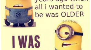 Today Minion Quote