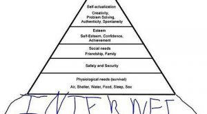 The Updated Maslow's Pyramid Of Needs