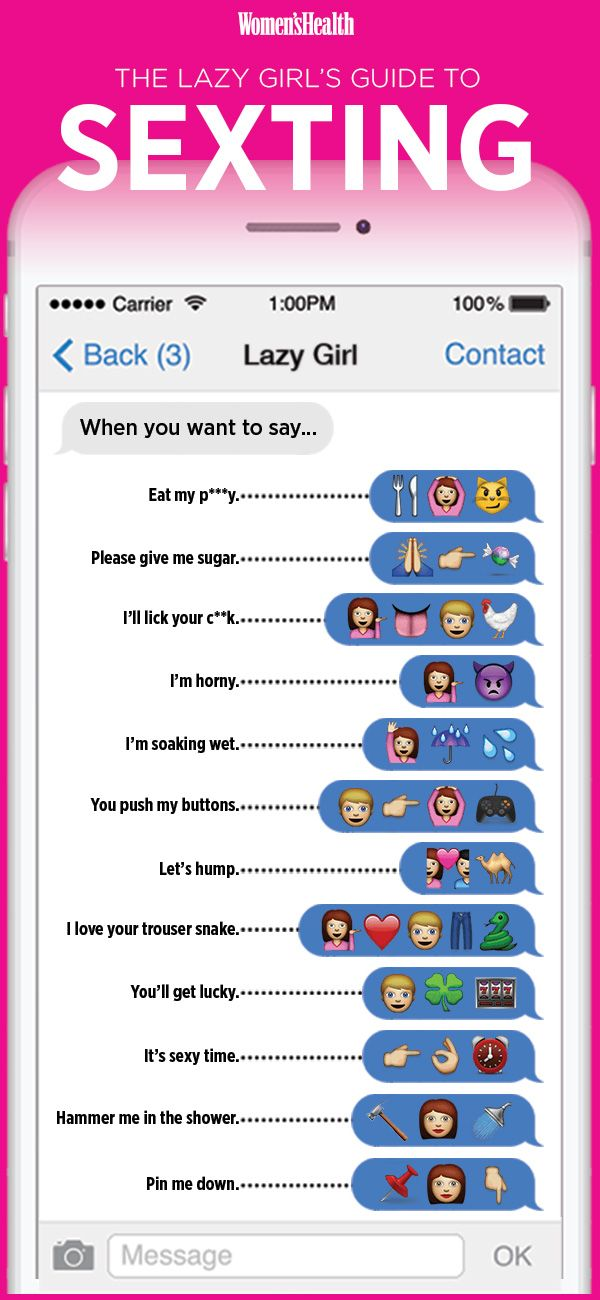The Lazy Girl's Guide To Sexting