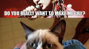 Pinning nothing but grumpy cat has I am now much less grumpy. ;)