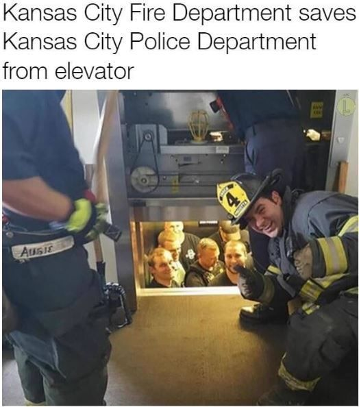 My dad works for the fire department so this would be great to actually…