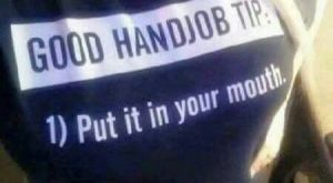 cool Good Handjob Tip
