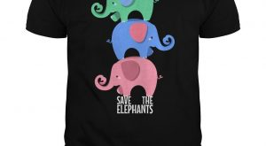 "Save The Elephants, Cute #Elephant ""> #Elephant, Wild Animal T-shirt T-Shirt, Order HERE…"