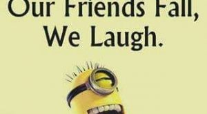 Funny Minion Joke – Phones vs. Friends