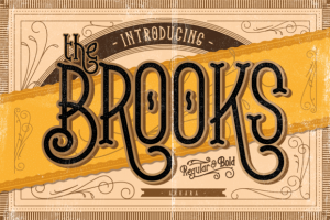 Brooks + Bonus by Arkara on Creative Market