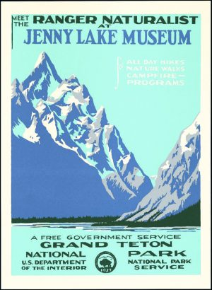 National Parks Travel Posters, Resurrected – Features – World Hum