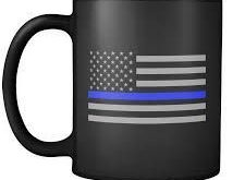 Image result for This thin blue line makes us sisters