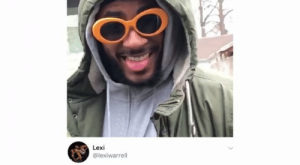 Homie, Memes, and Twitter: CE, Gin  @TA   Caption this  Lexi  @lexiwarrell  when your homie picks u up the morning  after you disappeared last night Didn't lose the clout goggles tho þ twitter-TA_
