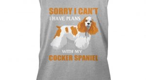 "Funny Cocker Spaniel Dog Shirt. Gift For Grandparents. #gift ""> #gift #ideas explore…"