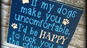 Funny Gift For Pet Owner, Rustic Wooden Sign, Dog Lover Home Decor #funnydogquotes explore...