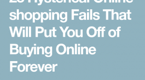 Hysterical Online shopping Fails That Will Put You Off of Buying Online Forever