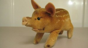 Steiff Vintage Young Wild Boar