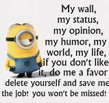 Minion Quotes For Facebook. QuotesGram