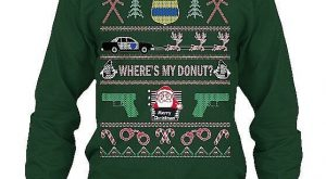 Be the best dressed Police Officer or Law Enforcement fan at your Ugly Christmas…