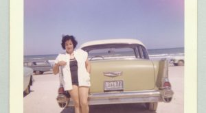 Wonderful Kodacolor Prints of Women with Classic Cars in the s
