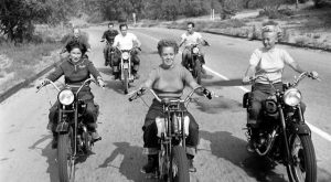 s Bike Girls: Fascinating Photos of Female Motorcyclists From , Taken by Loomis Dean…