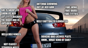 / WOULD NOT BANG – Sexy Girls with Cars Meme's – Page  -…