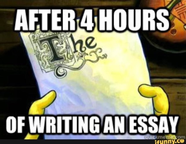"""On writing papers:   Just A Bunch Of Really Good """"SpongeBob"""" Memes"""