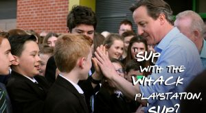 David Cameron is a fail at life