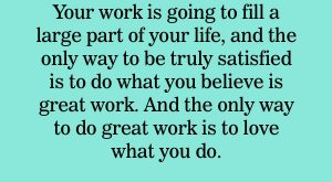 "Love what you do. Do great work. #MondayMotivation search Pinterest"" #MondayMotivation"