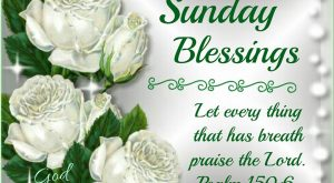 Sunday Blessings!Psalm :God Bless!