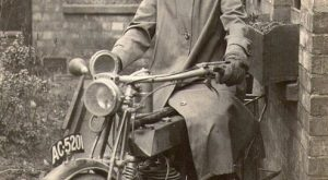 Lady rider on Vintage Motorcycle and other cool vintage photos