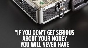 """If you don't get serious about your money, you will never have serious money.""…"