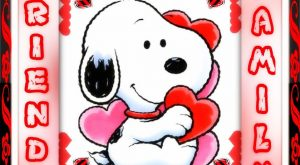 It's Saturday! Hope yours is awesome! Friends and Family snoopy weekend valentine's day saturday…