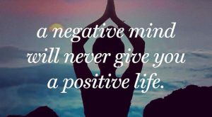 """A negative mind will never give you a positive life."" Find your happy place…"