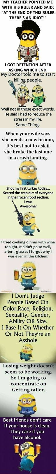 """#Funny """"> #Funny #Quotes """"> #Quotes Collection By The Minions – Funny…"""