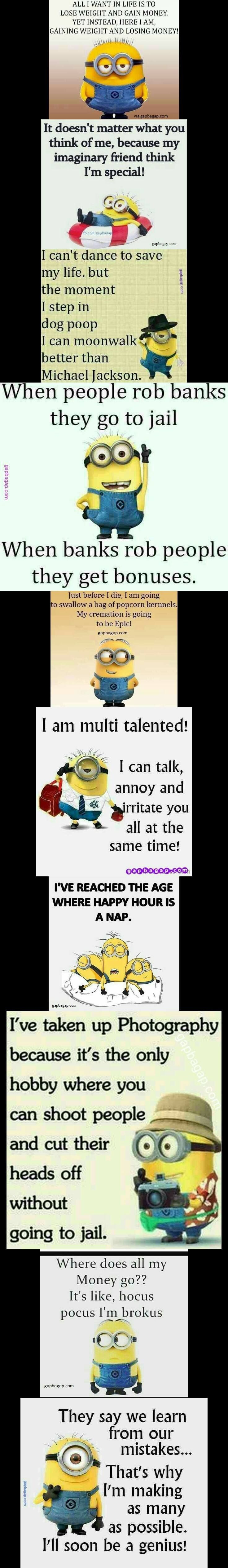 """Top  Funniest Memes By The #Minions """"> #Minions – funny minion memes,…"""