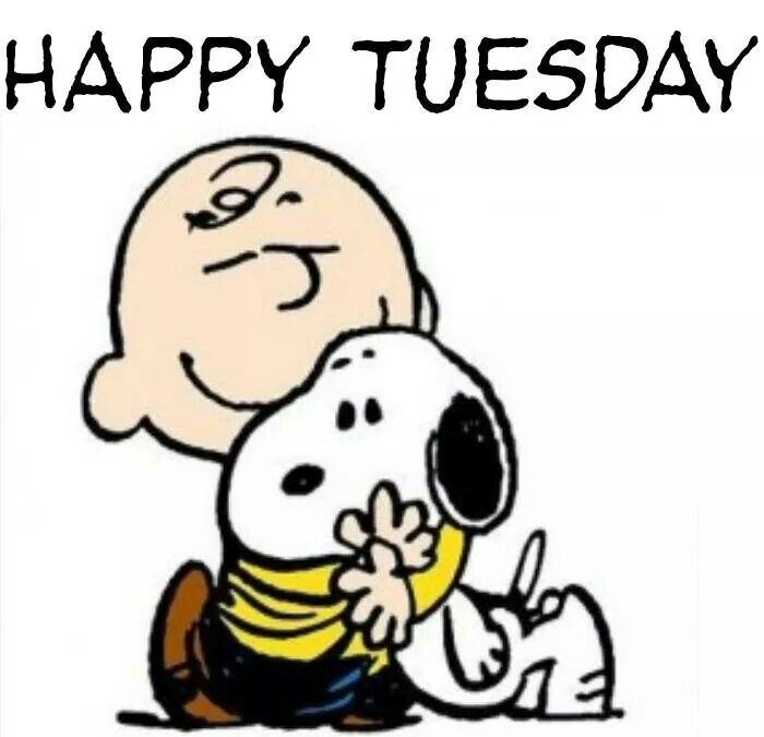 Happy Tuesday charlie brown snoopy tuesday tuesday quotes ...