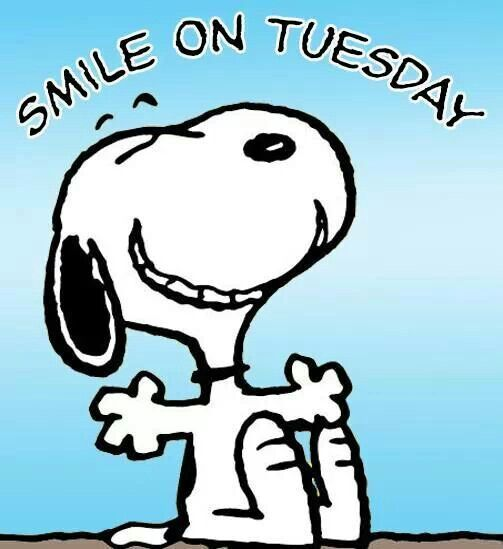 Smile On Tuesday snoopy tuesday tuesday quotes happy tuesday tuesday quote happy…