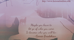 equine artist shares beautiful horse photos, inspirational quotes, memes and artwork