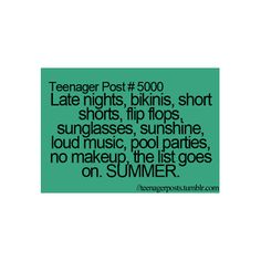 teenager posts. But