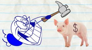 Pencilmate Wants the Money! -in- NOTORIOUS P.I.G – Pencilmation Cartoons for Kids