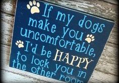 Dog Owner Sign  Gift
