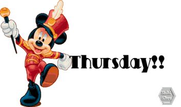 Happy Thursday Greetings | Happy Thursday! Mickey Mouse Greetings |