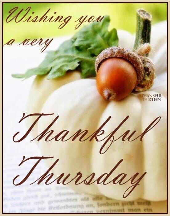 Wishing You A Thankful Thursday