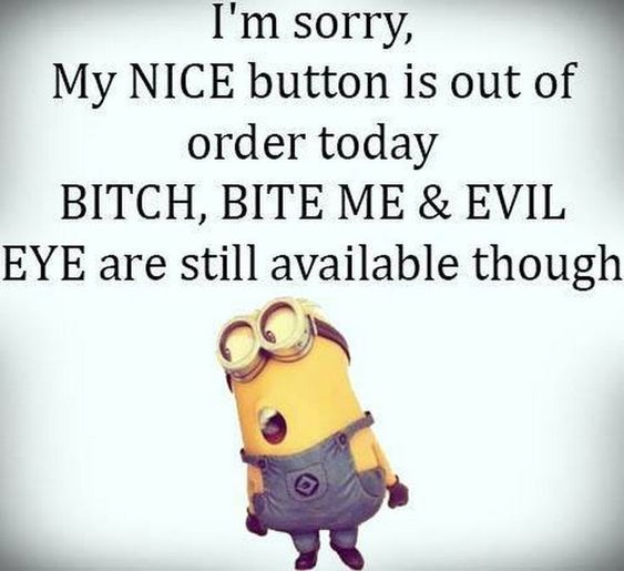 Hilarious Minion Memes and Pictures That's why they don't put them on -…