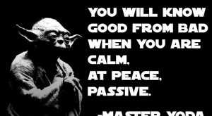 Yoda – Unlearn quote