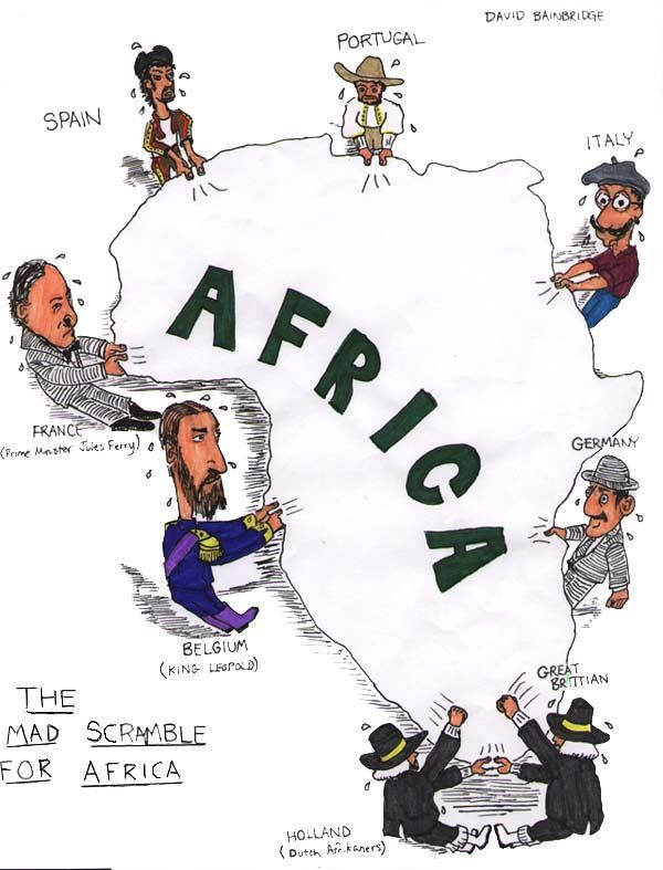 By  European possessions in Africa consisted of some forts and trading posts along…